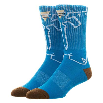 The LEGEND OF ZELDA Breath Of The Wild Men's Crew Socks