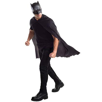 BATMAN Costume Masked Cape