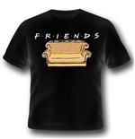 Friends T-shirt - Logo And Sofa