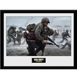 Call Of Duty Wwii Framed Print - Camaraderie - 30x40 Cm