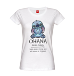 Lilo & Stitch Ladies T-Shirt Ohana Means Family