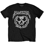 Killswitch Engage Men's Tee: Skull Spraypaint