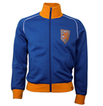 Holland 1970\'s Retro Jacket polyester / cotton (Blue)