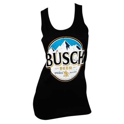BUSCH Ladies Black Tank Top