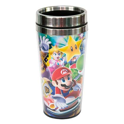 Super MARIO Comic MARIO Kart Travel Mug