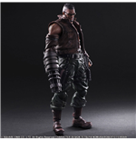 Final Fantasy VII Remake Play Arts Kai Action Figure No. 2 Barret Wallace 30 cm