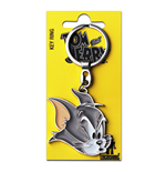 Tom & Jerry Metal Keychain Tom