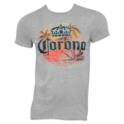 CORONA EXTRA Sunset Grey Tee Shirt