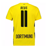 2017-18 Borussia Dortmund Home Short Sleeve Shirt (Reus 11)