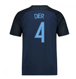 2017-18 England Away Shirt (Dier 4)