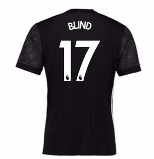 2017-18 Man Utd Away Shirt (Kids) (Blind 17)