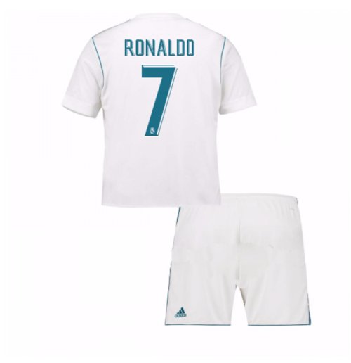2017-18 Real Madrid Home Mini Kit (Ronaldo 7)