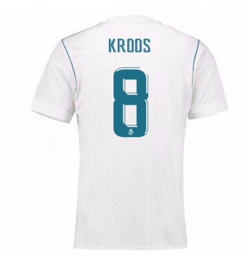 2017-18 Real Madrid Home Shirt (Kroos 8)
