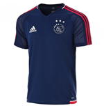 2017-2018 Ajax Adidas Training Shirt (Blue)