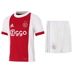 2017-2018 Ajax Adidas Home Mini Kit