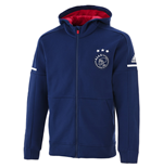 2017-2018 Ajax Adidas Anthem Jacket (Dark Blue)
