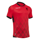 2017-2018 Albania Home Macron Football Shirt