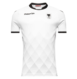 2017-2018 Albania Away Macron Football Shirt