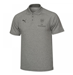 2017-2018 Arsenal Puma Casual Performance Polo Shirt (Grey) - Kids