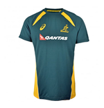 2017-2018 Australia Wallabies Rugby Training Top (Green)