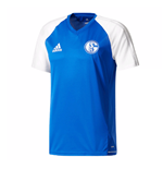 2017-2018 Schalke Adidas Training Jersey (Blue)