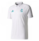 2017-2018 Real Madrid Adidas Polo Shirt (White)