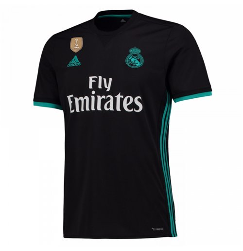 2017-2018 Real Madrid Adidas Away Football Shirt