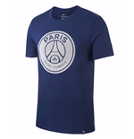 2017-2018 PSG Nike Core Crest Tee (Navy)