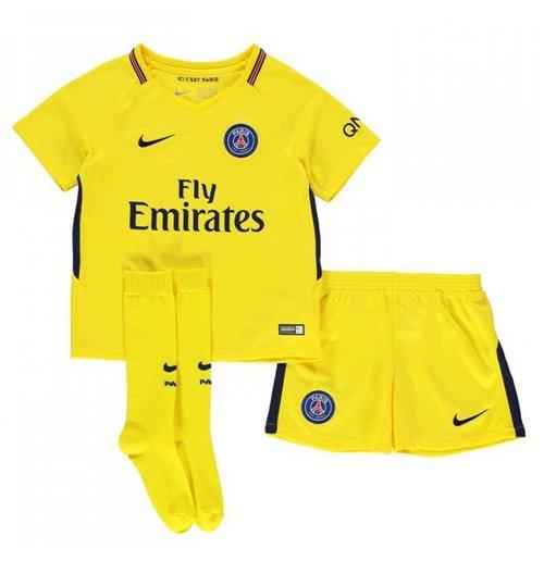 Buy Official 2017-2018 PSG Away Nike Little Boys Mini Kit 57145979e