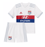 2017-2018 Olympique Lyon Adidas Home Little Boys Mini Kit