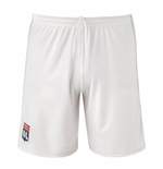 2017-2018 Olympique Lyon Adidas Home Shorts (White) - Kids