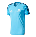2017-2018 Marseille Adidas Training Shirt (Blue)