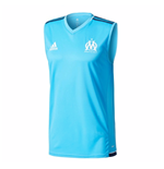 2017-2018 Marseille Adidas Sleeveless Shirt (Blue)