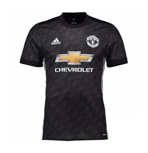 2017-2018 Man Utd Adidas Away Adi Zero Football Shirt