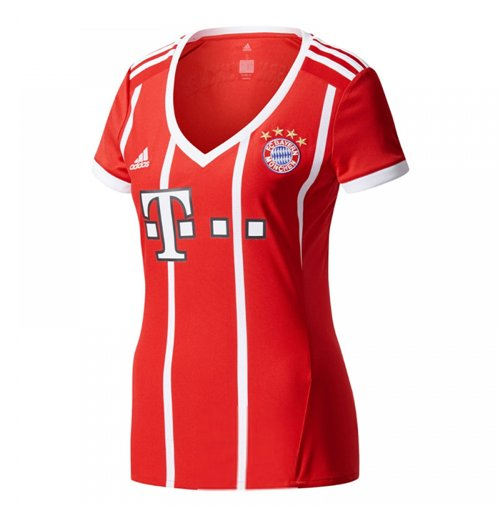 2017-2018 Bayern Munich Adidas Home Womens Shirt