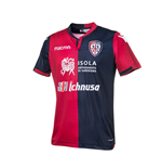 2017-2018 Cagliari Authentic Home Match Shirt