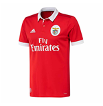 2017-2018 Benfica Adidas Home Football Shirt