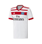 2017-2018 Hamburg Adidas Home Football Shirt