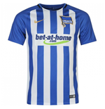 2017-2018 Hertha Berlin Home Nike Shirt (Kids)