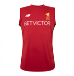 2017-2018 Liverpool Training Vest (Red)