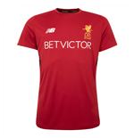 2017-2018 Liverpool Training Shirt (Red)