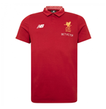 2017-2018 Liverpool Media Motion Polo Shirt (Red) - Kids