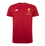 2017-2018 Liverpool Media Cotton Tee (Red)