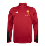 2017-2018 Liverpool Half Zip Windblocker (Red)