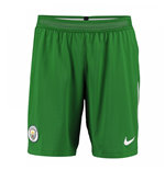 2017-2018 Man City Home Nike Goalkeeper Shorts (Green)