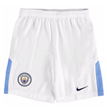 2017-2018 Man City Home Nike Football Shorts (Kids)