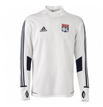 2017-2018 Lyon Adidas Training Top (White)