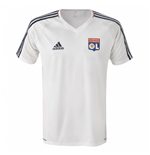 2017-2018 Lyon Adidas Training Shirt (White)