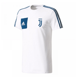 2017-2018 Juventus Adidas Training Tee (White)