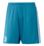 2017-2018 Juventus Adidas Home Goalkeeper Shorts (Blue)